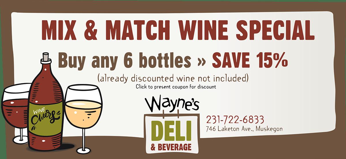 Booze coupon web graphic