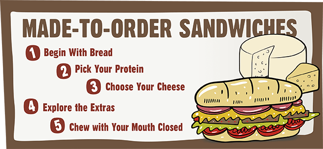 Wayne's Deli made-to-order sandwiches image